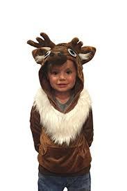 vire costumes for kids handmade comfy clothing kids reindeer hoodie