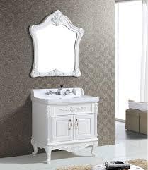 Mirrored Bathroom Cupboard Bathroom Shelves Antique White Vanity Mirror Inch Single With
