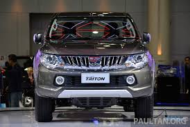kereta mitsubishi attrage 2015 mitsubishi triton shows up at thai motor expo