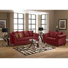 Uncomfortable Couch Adrian Sofa Red American Signature Furniture