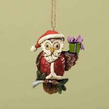 christmas owl ornament u2013 shore
