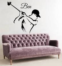 popular smoking names buy cheap smoking names lots from china wall sticker golf player sport vinyl nursery custom personalized name kids boy room removable decal poster