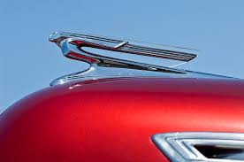 1941 chevrolet ornament photograph by reger