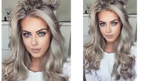 hair tutorial big bouncy hair tutorial chloe boucher youtube
