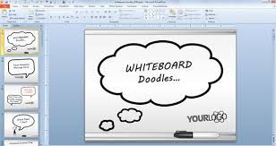 whiteboard symbols powerpoint templates for presentations
