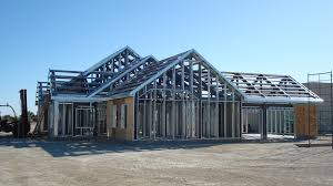 cool metal frame house 58 metal frame homes construction image of