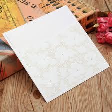 wedding invitation cards kit with envelopes seals blank inner