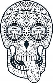 halloween skull coloring pages u2013 fun christmas