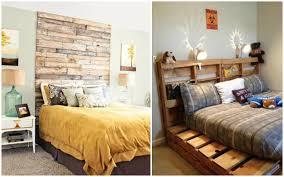 tete de lit chambre ado diy bricolage meuble palette bois chambre coucher adulte ado tête