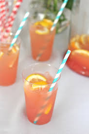 Best Party Cocktails - savor home the best party punch ever lemonade orange juice