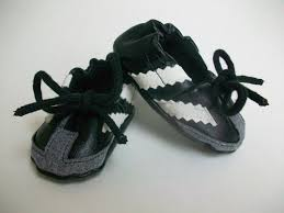 baby sambas so i m in now soccer baby booties