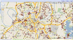 Portland Crime Map Americas Spreading Foreclosure Pandemic Use Googles And Nashville