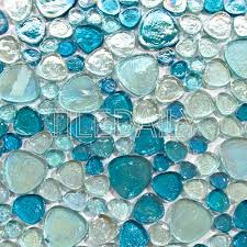 iridescent pebble glass mosaic 3 colors u2013 sale u2013 tiledaily
