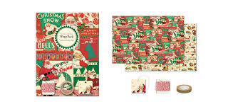 cavallini wrap cavallini co christmas collection gift wrap