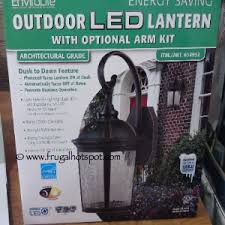 Costco Led Outdoor Lights Not The Best Picture But I This Lantern Envirolite Outdoor