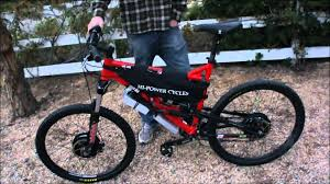 50 mph 8000w awd electric offroad mountain bike first drive youtube