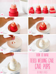 cake how to tutorial how to make tiered wedding cake cake pops niner bakes