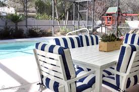 White Patio Dining Set by Florida Patio And Yard Tour House Mix