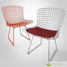 3d model bertoia chair by knoll cgtrader