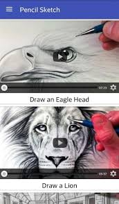 pencil sketch videos android apps on google play