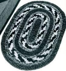 Easy Crochet Oval Rug Pattern Crocheted Oval Rug Pattern From Crocheted Rugs Originally