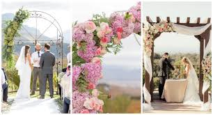 flower arch 21 amazing wedding arch canopy ideas