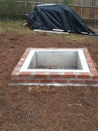 How To Make A Firepit Out Of Bricks How To Make A Pit Out Of Bricks Pit Design Ideas