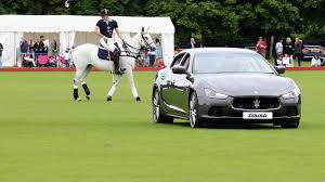 maserati california beaufort polo club plays host to maserati royal charity polo