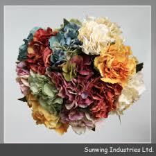 Artificial Flowers Wholesale Bulk Silk Flowers 7 Head Artificial Carnation Bunch Premium Silk