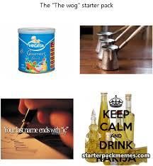 Wog Memes - the best of starter pack memes 盪 the wog