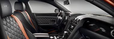 Fox Body Black Interior Flying Spur Features Bentley Motors