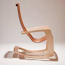 chair modern j rusten furniture studio the modern rocking chair