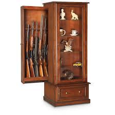 american classics gun cabinet american furniture classics 10 gun curio slider cabinet combo a