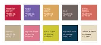 2009 pantone fall color forecast thegloss