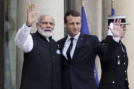 Seeking In India President Emmanuel Macron Heads To India Seeking To Avoid