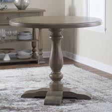 counter height gathering table belham living kennedy round counter height 42 in gathering table