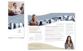 marketing brochure template marketing consulting group brochure