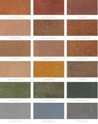 acid stain colors color can add interest to a plain concrete