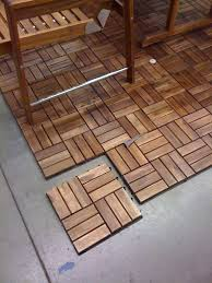 patio patio floor covering of wooden floor tiling and tile with