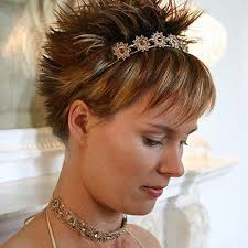 crown spiked hair styles double edge effect with defined spikes on crown and back while
