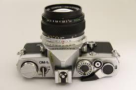 olympus om1n chrome slr with shoe 4 hotshoe 50mm f1 4 g zuiko