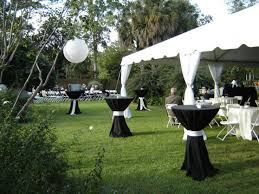 springtime decorating ideas simple outdoor wedding decoration