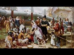 when is american thanksgiving 2017 and what is the history