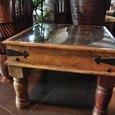 Table Basse Style Asiatique by Table Basse Opium Tiroir Table Basse Scandinave En Bois Blanc Et