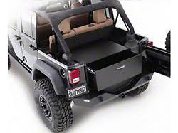 jeep wrangler speaker box tuffy wrangler speaker storage security lock box set 020 01 92