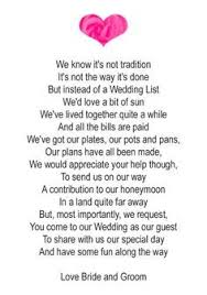 wedding gift quotes for money 50 small wedding gift poem cards asking for money groom 1