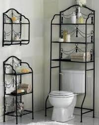 Wrought Iron Bathroom Shelves Wrought Iron Toilet Frame Bathroom Rack Iron Bathroom Shelf