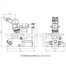 apochromatic objective dic metallurgical optical microscope