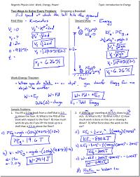 work energy worksheet free worksheets library download and print