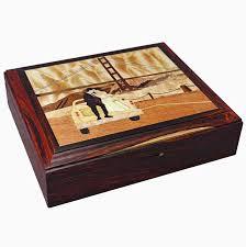 buy a crafted custom wood inlay keepsake jewelry box made to